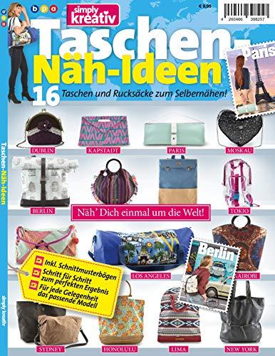 Simply kreativ - Taschen-Näh-Ideen: Simply kreativ - Taschen-Näh-Ideen: 16 Taschen und Rucksäcke zum Selbernähen!