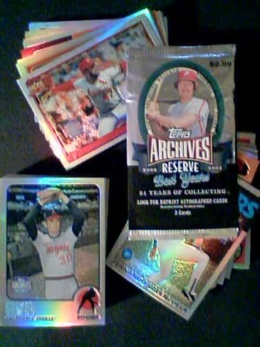 2002 Topps Archives Reserve Complete 100 Card Set Nolan Ryan, Roberto Clemente, George Brett and Much More
