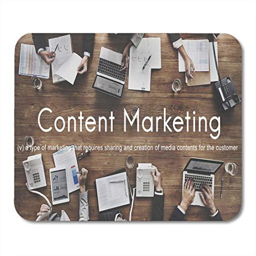 Mauspad marktinhalt marketing social media werbung branding strategie kampagne mousepad für notebooks, Desktop-computer mausmatten