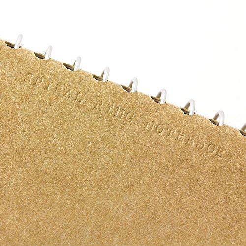 Tan spiral ring notebook Mukei northern polar bear pattern (japan import) Photo #9