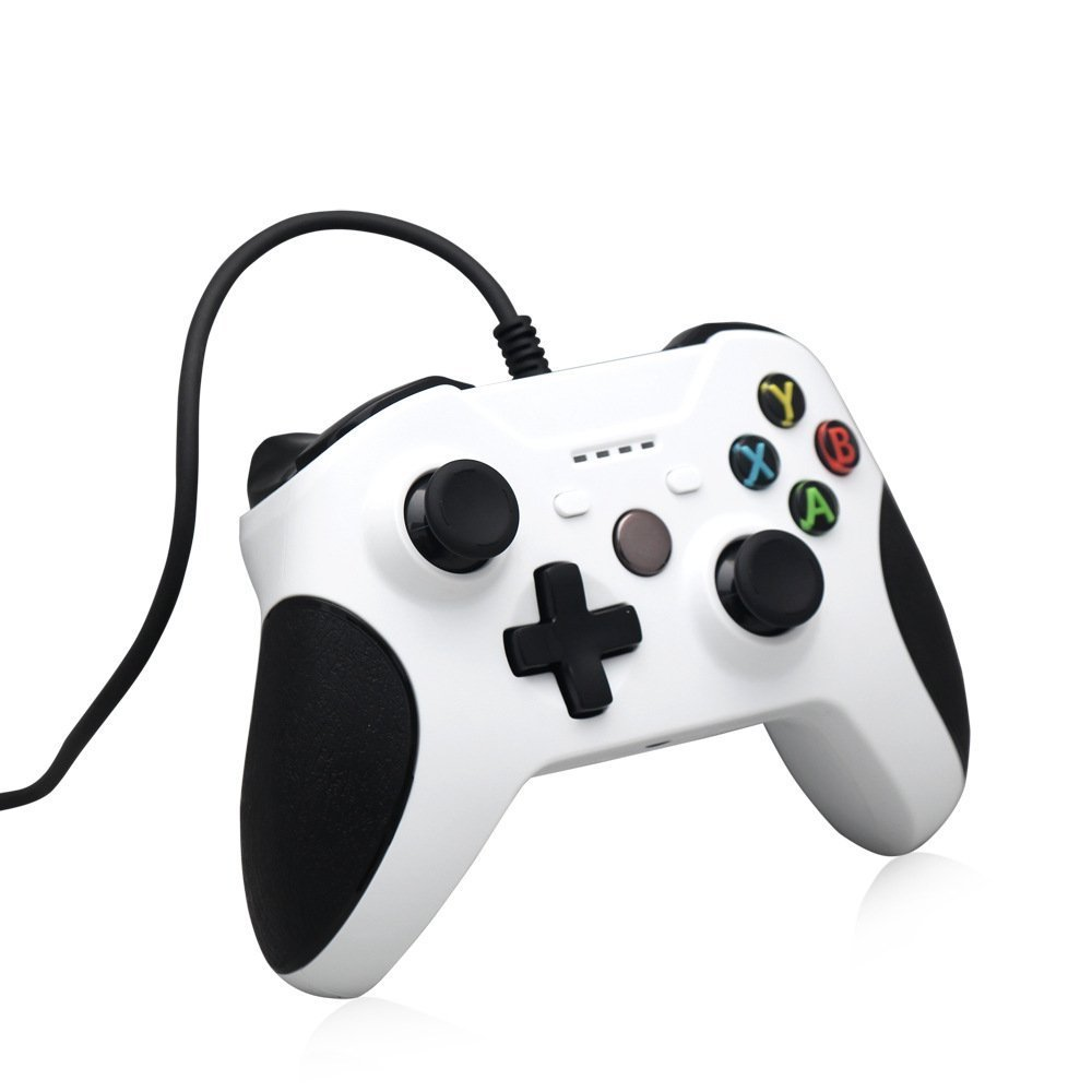 Controlador Xbox One, STOGA Mando Xbox One USB con Cable Controlador de Juego de Reemplazo Compatible con Xbox One y PC (Windows 7/8/10): Amazon.es: Electrónica