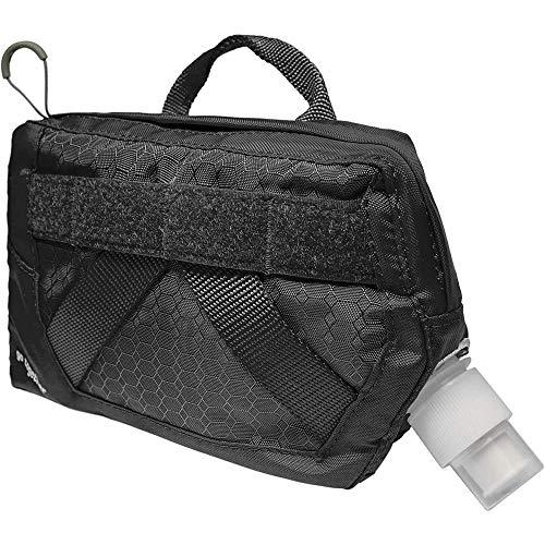 Kurgo K81051 RSG Trinkflasche für Hunde, Hundezubehör, Ergänzung zum Hundegeschirr, MOLLE-Kompatibel, Erhältlich in Schwarz, 104 g
