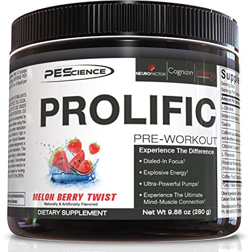 Pescience prolific pre workout image