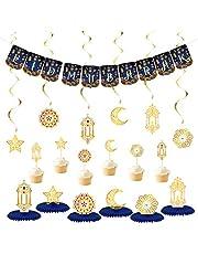 Ramadan Eid Mubarak Muslim Festival Party Decoration Set for Eid Party Decorations Supplies Props