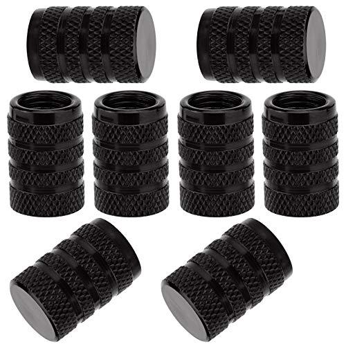 SAVITA 8Pcs Tire Valve Stem Caps, Universal Aluminum Tire Valve Cap with...