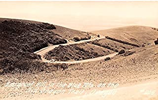 Emigrant Hill Old Oregon Trail, Oregon postcard