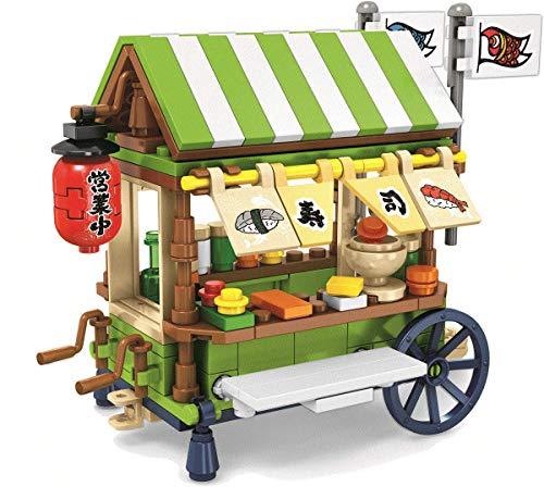 Miniature Sushi Cart