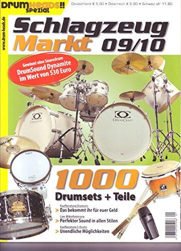 Schlagzeugmarkt 09/10 Kaufberatung Drumsets Live Mikrofonierung E-Drums