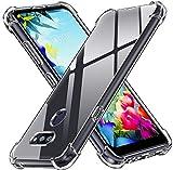 ivoler Klar Silikon Hülle für LG K40S mit Stoßfest Schutzecken, Ultra Dünne Weiche Transparent Schutzhülle Flexible TPU Durchsichtige Handyhülle Kratzfest Hülle Cover