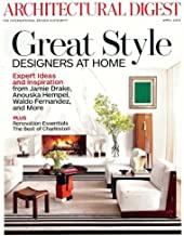 Architectural Digest Magazine (April, 2013) Great Style. Designers At Home.