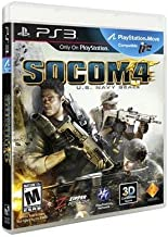 New Sony Playstation Socom 4 Us Navy Seals Outnumbered Utgunned Under Fire Supports Ps3