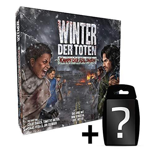 Winter der Toten - Kampf der Kolonien - Erweiterung | DEUTSCH | Neuauflage | Set inkl. Kartenspiel