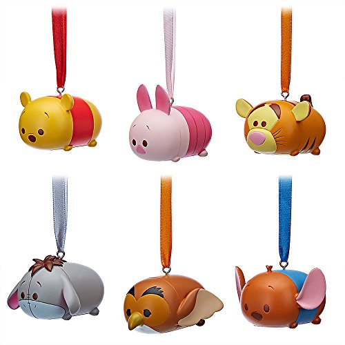 Disney Pooh and Friends Tsum Ornament 6 Piece Set