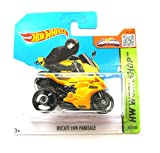 Hot Wheels Ducati 1199 Panigale maisgelb-schwarz 203/250 1:64
