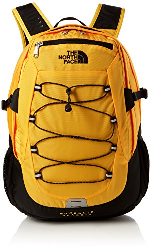 The North Face Borealis Classic, Zaino Unisex Adulto, Arancione (Orange/TNF Yellow/TNF Black), Taglia unica