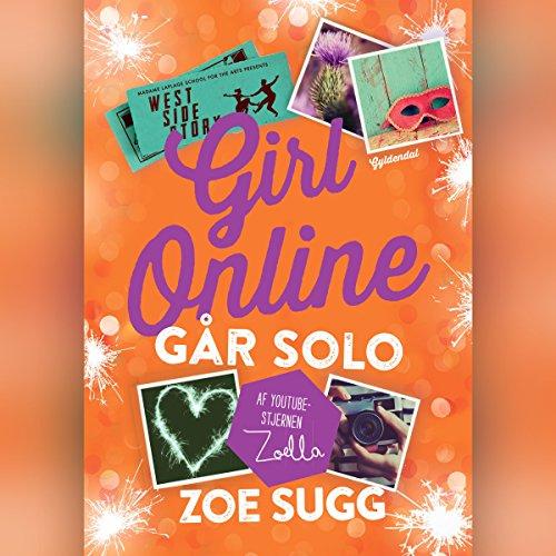 Går solo (Girl Online 3) audiobook cover art