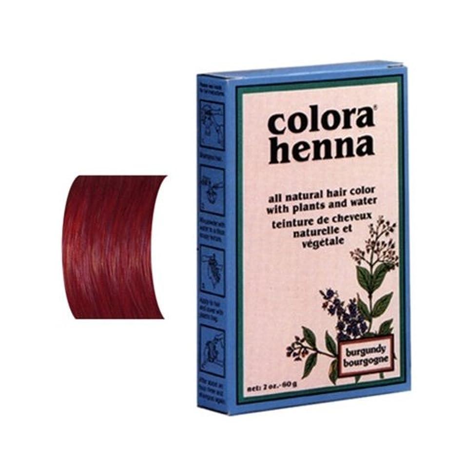 森林汚染する芸術的Colora ヘナパウダー、 2オンス ブルゴーニュ