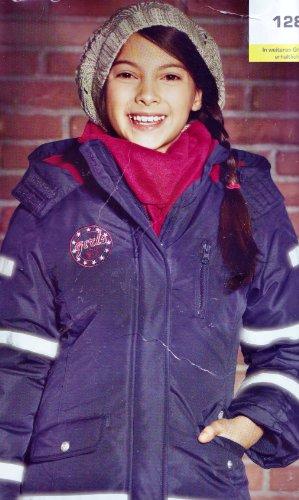 Pepperts! Reflektor Kinder Winter Jacke 360° Rundum mit hochwertigen Reflektoren von 3M Scotchlite TM Sichtbarkeit im dunkeln bis 160 Meter