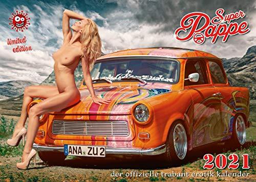Der offizielle Trabant Erotik Kalender Super Pappe 2021 - NEU