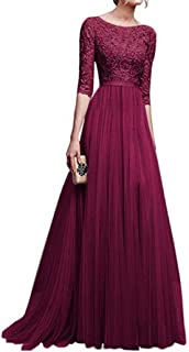 Best red colour long frock Reviews