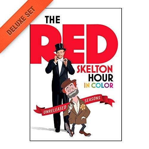 The Red Skelton Hour: 22 DVD collection of Red Skelton Movies and TV Shows by Time Life [DVD]