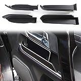 Voodonala for 4Runner Side Door Storage Box Glove Organizer Tray for 2010-2020 Toyota 4runner, ABS Black 4pcs