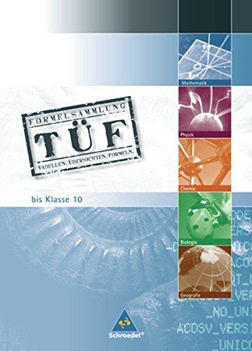 TÜF - Tabellen, Übersichten, Formeln: TÜF - bis Klasse 10