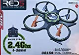 UDI RC U816A UFO Quadcopter 2.4Ghz with 6 Axis Gryo