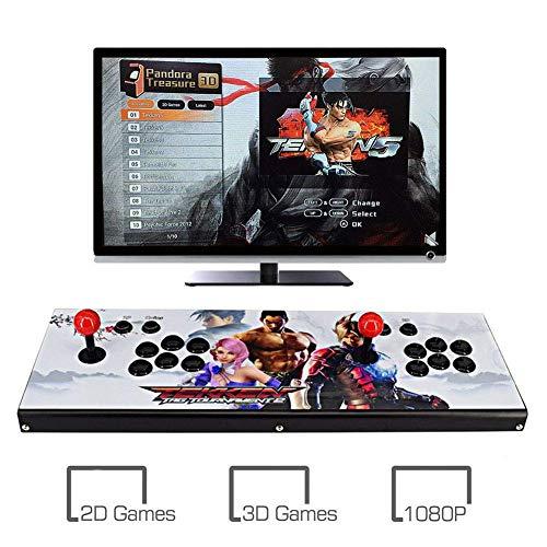 ZQYR GAME# 3D Console de Jeux vidéo Arcade 2350 en 1 Console de Jeux vidéo HD Retro avec HDMI/VGA USB Console Double Arcade, Model: BZ-7822
