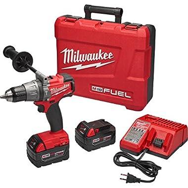 Milwaukee 2704-22 M18 Fuel 1/2  Hammer Drill/Driver Kit