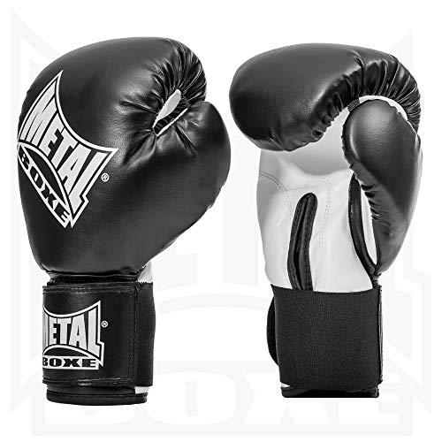 Metal Boxe MB221 - Guantes de boxeo, color negro - negro, tamaño...