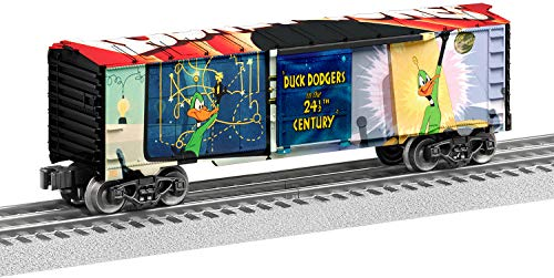 Lionel Trains - Looney Tunes Duck Dodgers MUSA Boxcar, O Gauge