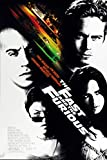 Fast and Furious Movie Poster Frameless Gift 12x18 (30cm x 46cm)-LT-038