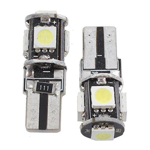 Milkvetch 2 CANBUS T10 W5W 194 Bombilla LUZ LED 12V 5 SMD Coche