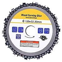 アングルグラインダーブレード-5インチチェーンのSAWディスク切断刃角グラインダーアクセサリーハードウェア部品用プラスチック/木材