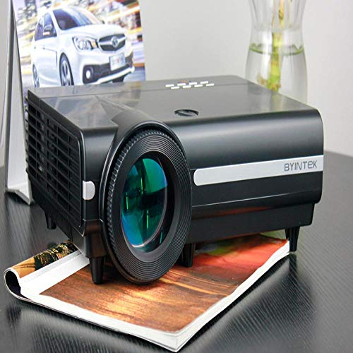 AFGH proyector Proyector LED Smart Android con Haz de Video WifiLED para Cine en casa Full HD 3D 4K de 300 Pulgadas