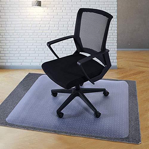 Rectangular almohadilla silla transparente de la manga protectora transparente pisos de alfombra,White