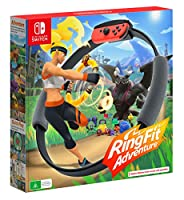 Nintendo Switch Ring Fit Adventure - Black