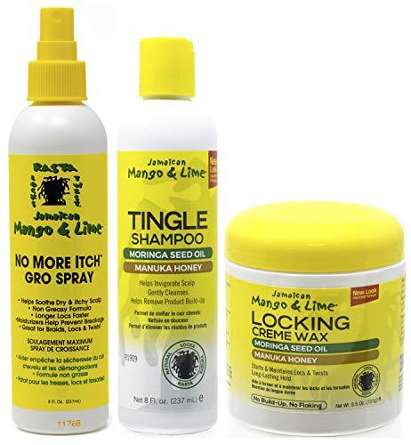 Jamacican Mango & Lime No More Itch Grow Spray 8oz con T