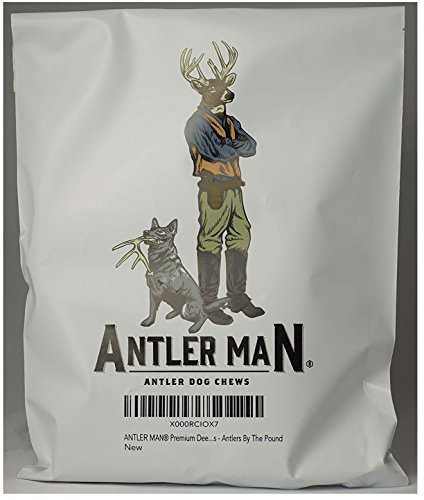 Antler Man Premium Deer Antler Pieces - Dog Chews - Sold by The Pound