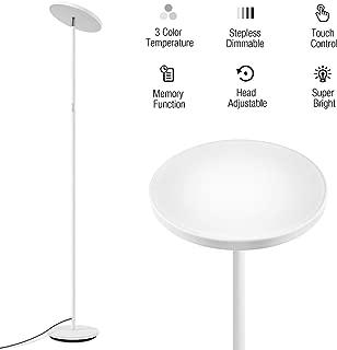 3 pole torchiere floor lamp