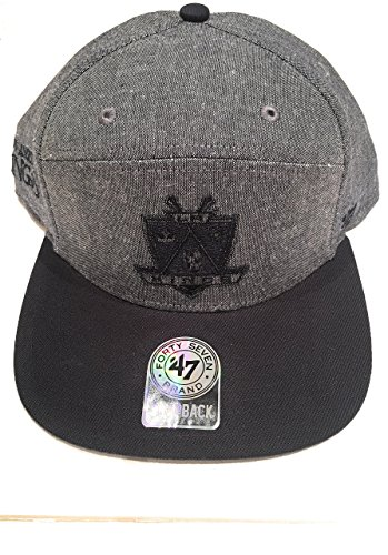 '47 Brand - Casquette de Baseball - Homme gris gris/noir Taille Unique