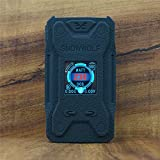 ModShield for SnowWolf Xfeng 230W TC Silicone Case ByJojo X FENG Cover Shield Skin Wrap (Black)