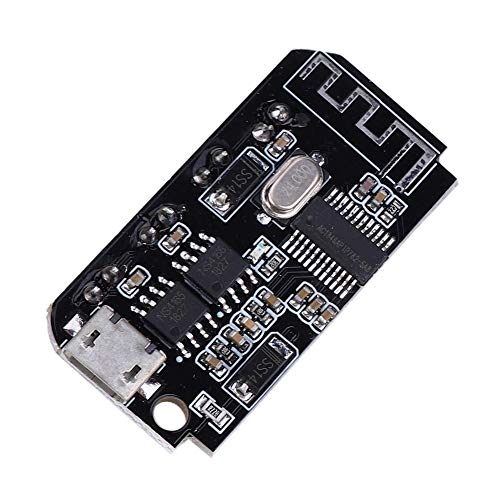Oumefar Modifica Altavoz Profesional Mini 5W + 5W Tarjeta Amplificador Bluetooth Estéreo 4.2 de alta calidad para la industria para altavoces inactivos con cable plano