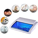 Limpiador ultrasónico UV Esterilizador Caja caliente del hogar de la herramienta del esterilizador de belleza, Tienda de uñas de arte, biselado de desinfección del gabinete, 110V-220V Inicio Bienestar