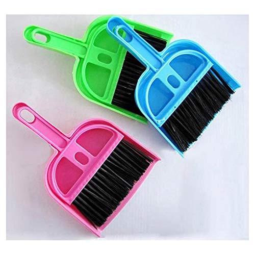 Desktop Keyboard Sweep Cleaning Brush Kleine Bezem Stofpan Plastic Schoon Gereedschap Mini Schop Set Computer Borstel…