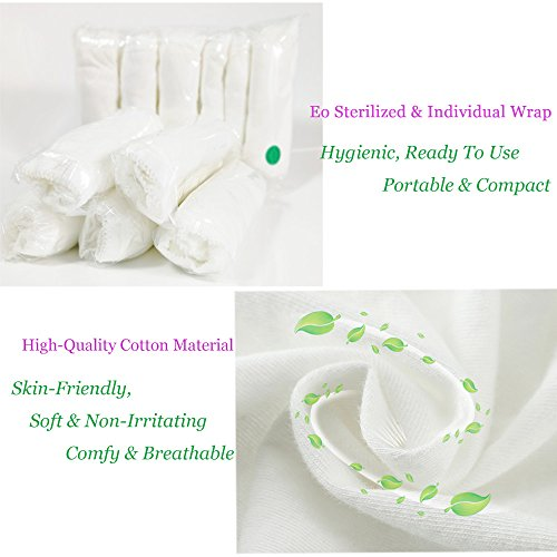 STARLY-Womens-Disposable-100-Pure-Cotton-Underwear-Travel-Panties-High-Cut-Briefs-WhiteMacarons-10Pk