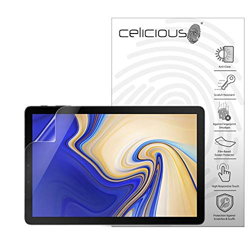 Celicious Matte Anti-Glare Screen Protector Film Compatible with Samsung Galaxy Tab S4 10.5 [Pack of 2]