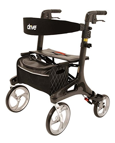 Drive Medical Rollator Nitro Carbon Gr. L