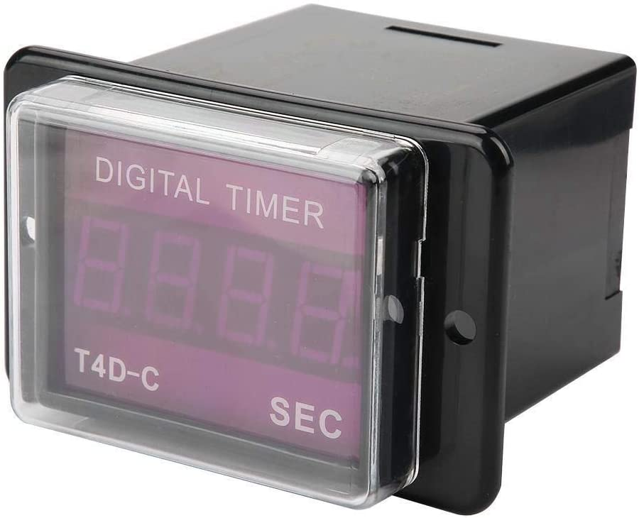 KXA Digital Time Relay Max 86% OFF Ranking TOP19 - Timer LED T4D-C 99.9
